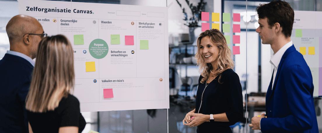 Wat zijn zelforganiserende teams en wat zijn hun succesfactoren?